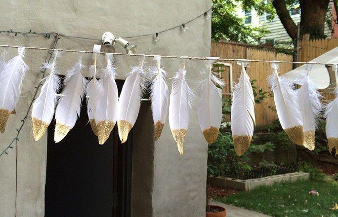 DIY Hochzeit: Einfache Ideen für die selbstgemachte Dekoration - gofeminin