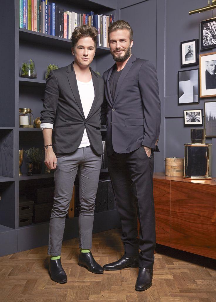 Redaktionsleitung Daniel trifft David Beckham in London zum Interview. 10 Jahre David Beckham Perfumes müssen schließlich gefeiert werden! #davidbeckham #instinct #menfashion #menwithstyle #london