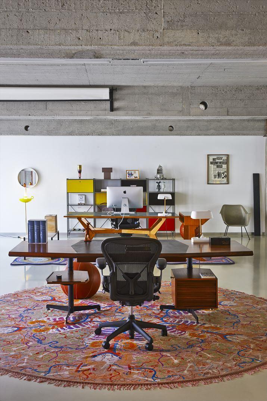 Studio Job Loft - Picture gallery #architecture #interiordesign #workspace