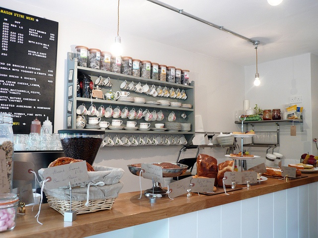 Maison d'être Coffee House @ Highbury Corner. Have to check it out.