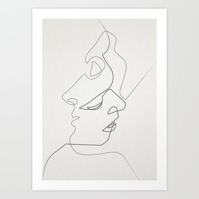 Close Art Print by Quibe - $23.00