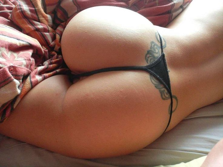In perfect thongs asses