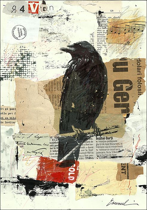 mixed media collage | Mixed Media Collage Art