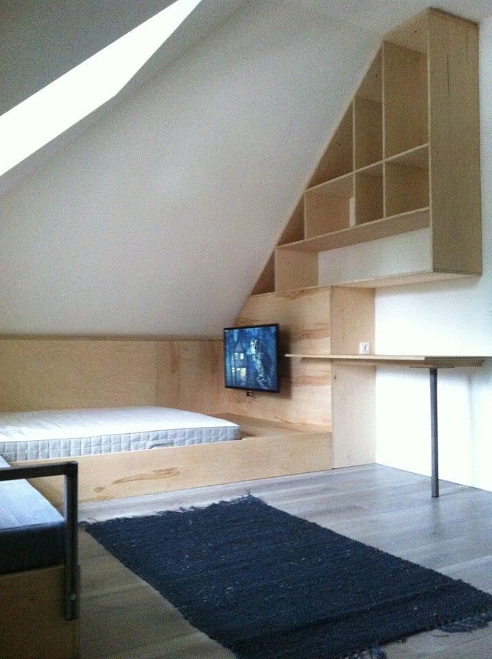 slaapkamer op maat berken multiplex