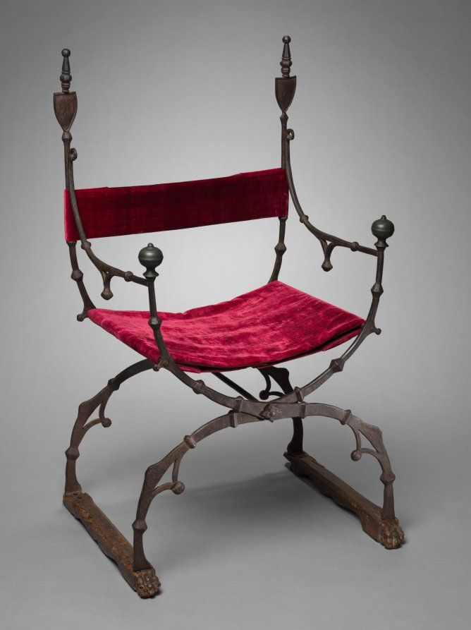 Curule (Folding) Chair -- Circa -- Italian, Florence -- Belonging to the  Cleveland Museum of Art. - 18 Best 1500 Italy Images On Pinterest Boxes, 16th Century And