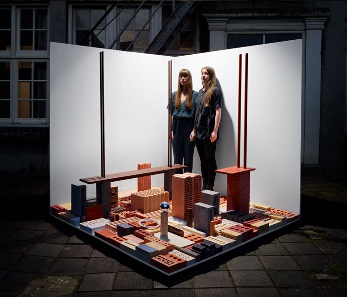 The 'Building' project of Emilie Pallard and Earnest Studio: Projects, Earnest Studio, Personal Content, Content Project