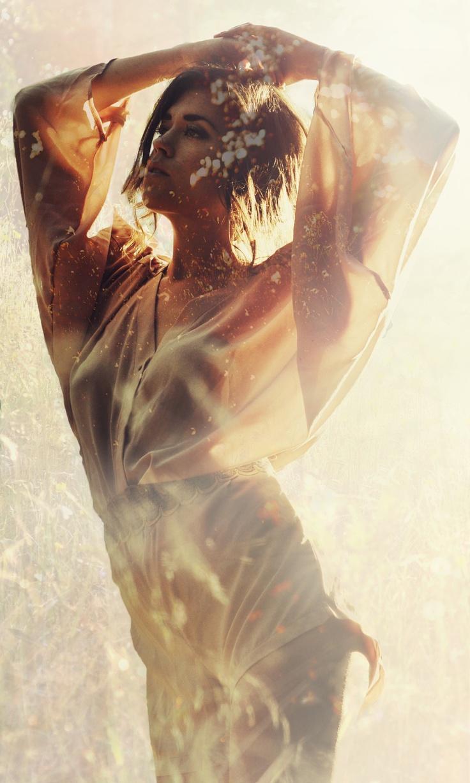 superimposed Image, dreamy