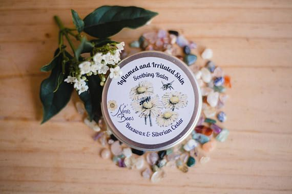 Check out this item in my Etsy shop https://www.etsy.com/uk/listing/461813292/all-natural-soothing-balm-for-inflamed
