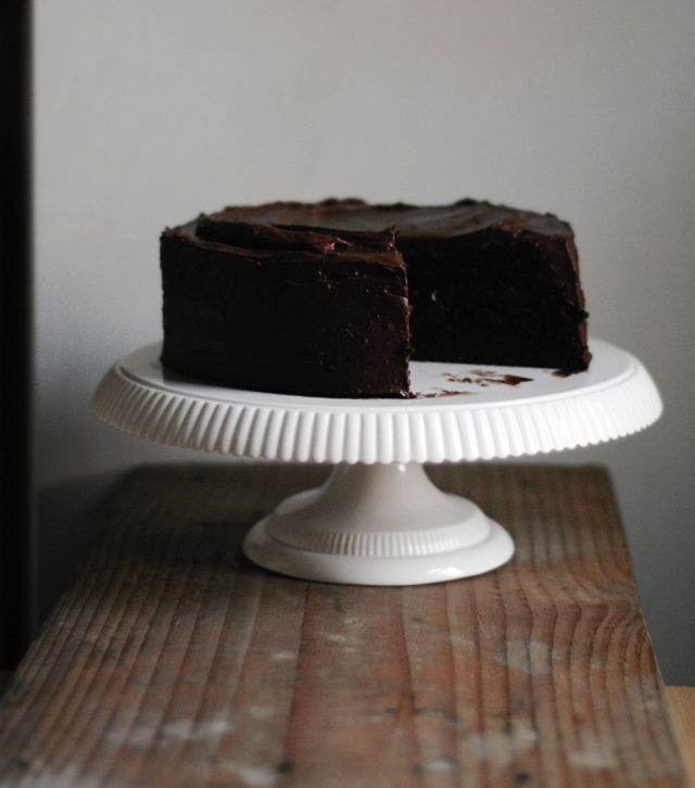 Apparently one of the best chocolate cake recipes in existence.