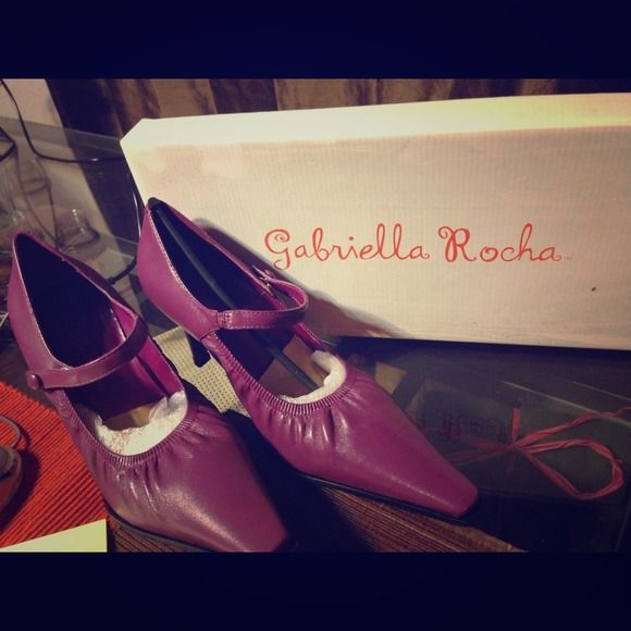 Gabriella rocha Orchid Heels! Brand new never worn! Gabriella rocha Shoes Heels