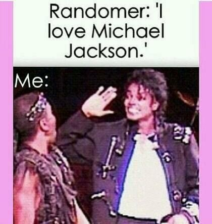 This happened when my friend introduced me to her mother who was evidently a Moonwalker too.