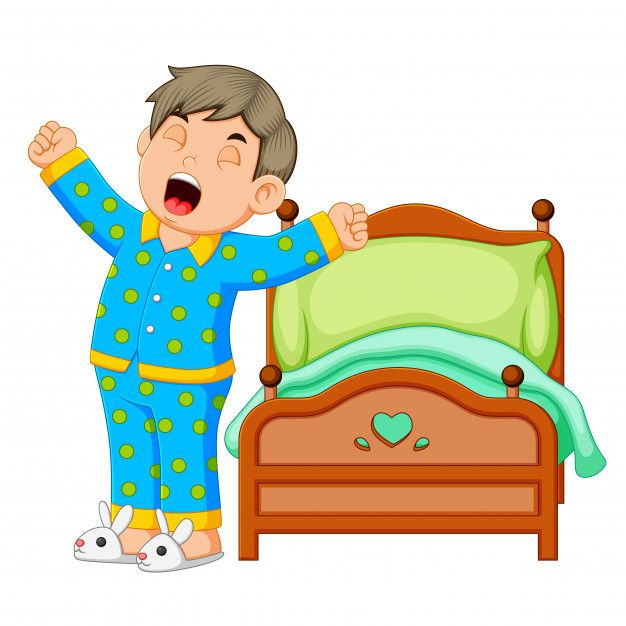 23+ Waking up clipart free information