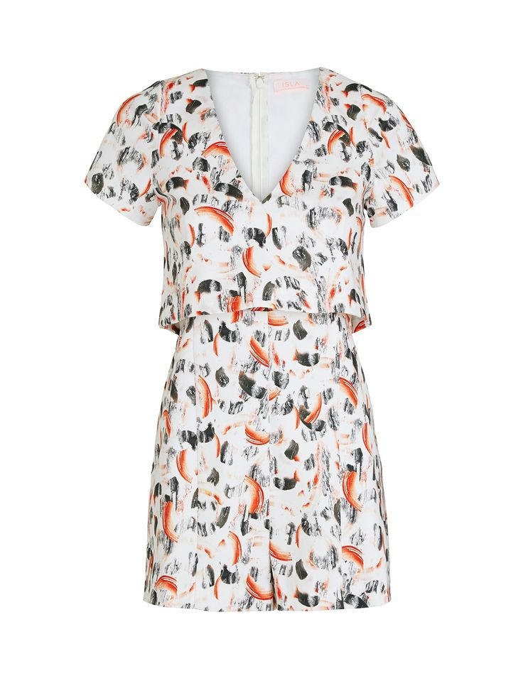 Isla by Talulah -MUSE PLAYSUIT - CMTD print