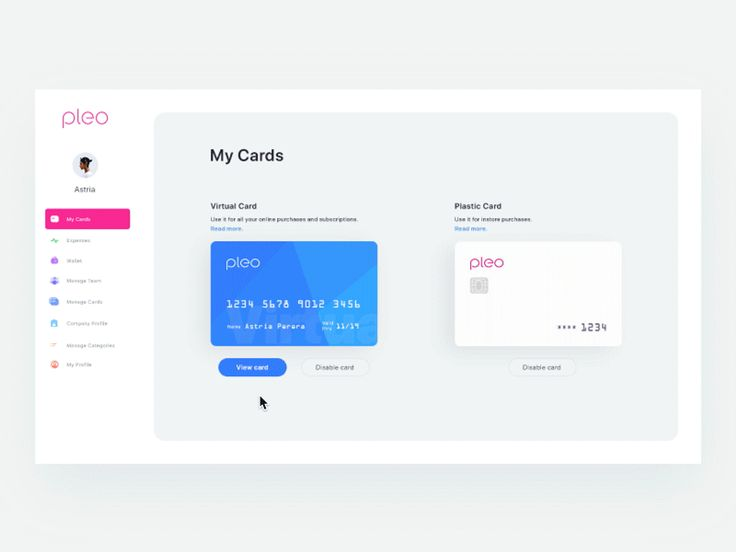 I worked on prototype concept for pleo virtual card unlocking and see details of card name, number, expiry date and other info. Its still in exploration phase, so feel free to shout out what you th...