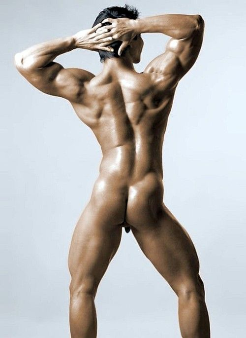 Men fitness model nude