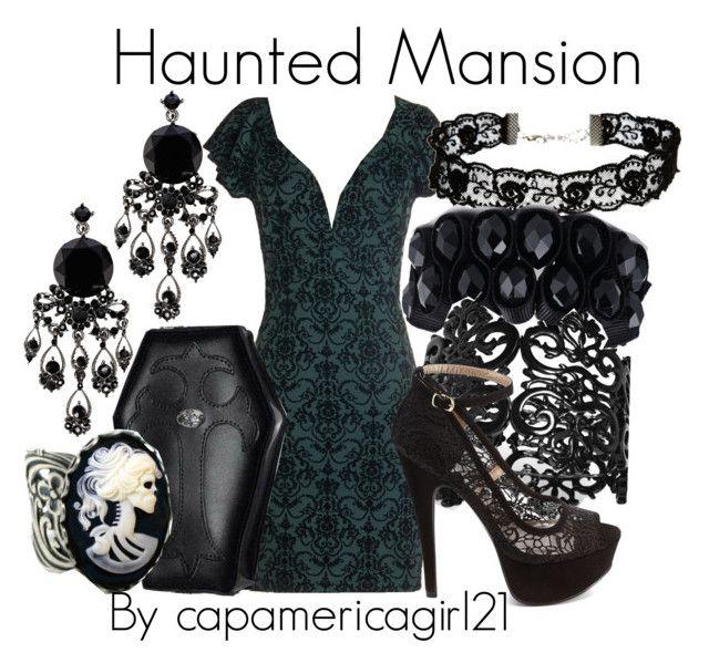 Haunted Mansion Disneybound by capamericagirl21