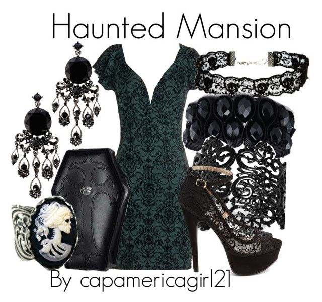 Haunted Mansion Disneybound by capamericagirl21