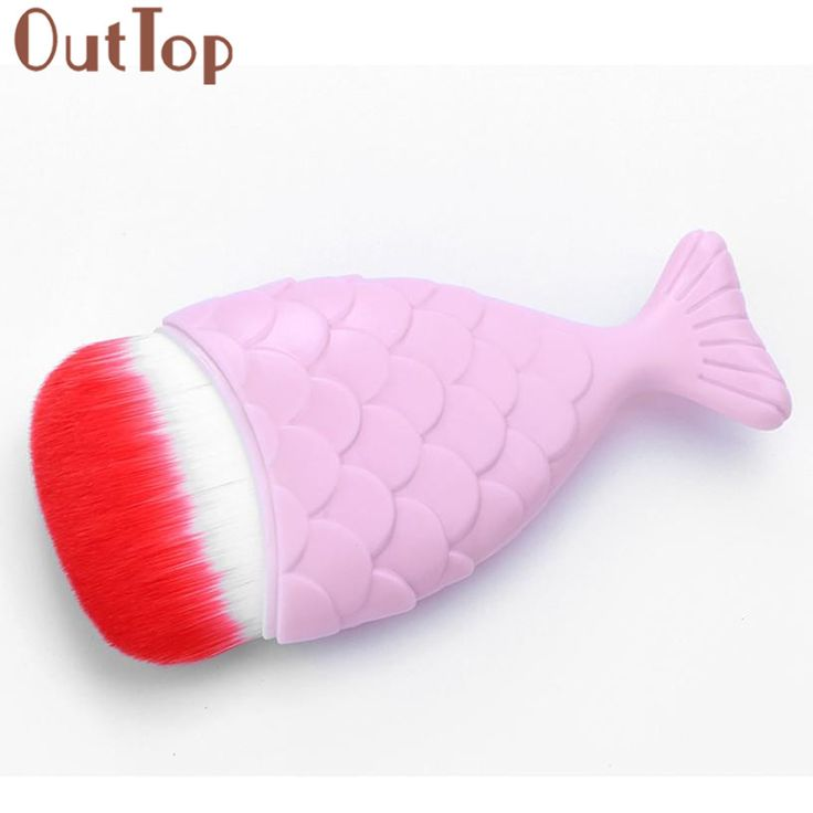 OutTop Concealer Blush  Fish Scale Makeup Brush Fishtail Bottom Brush Powder Blush Makeup Cosmetic Brushes Tool 2017 June22 #Affiliate