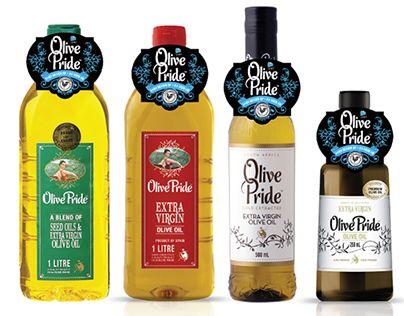 OLIVE PRIDE OLIVE OIL PACKAGING | Bravo Design