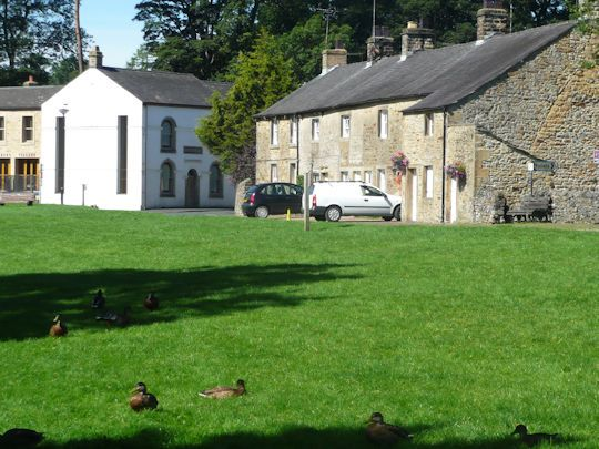 Pretty village of Slaidburn Walk through some pretty woodland Good views of the Slaidburn fells  Slaidburn is the centre of tourism in the Forest of Bowland, which actually means very little as this is a quiet area which is still unspoilt by the lesser unsavoury elements of the tourist industry. It is a pretty …