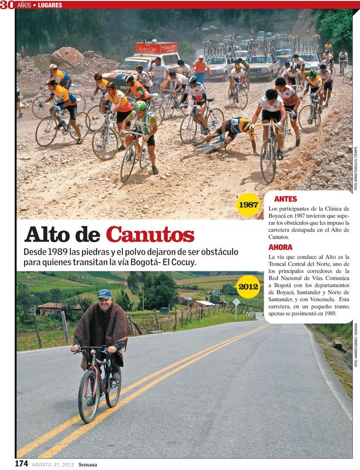 Sección: lugares. Edición 30 años de Revista Semana.