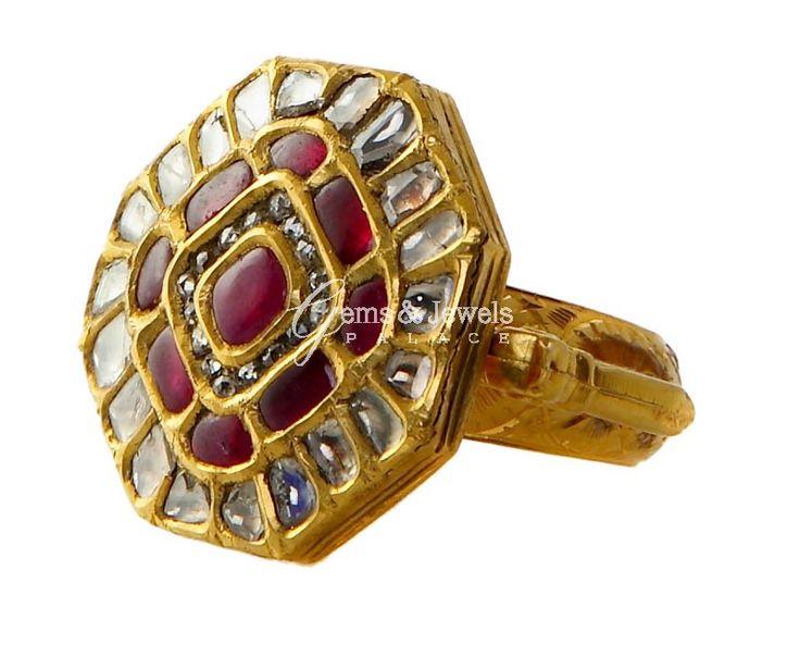 109 best jadau ring images on Pinterest