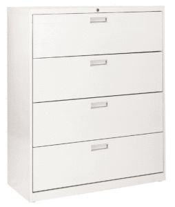 Hon 36 4 Drawer Lateral File Cabinet