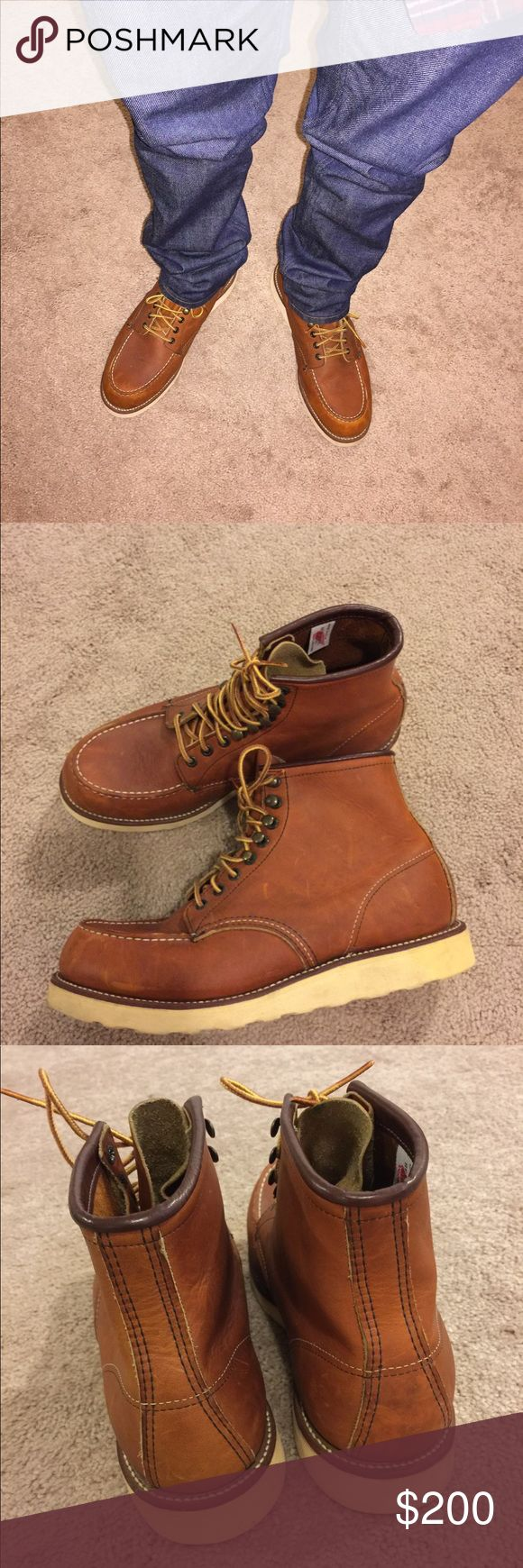 Men's Red Wing Boots In great shape 875 Red Wing Shoes Shoes Boots