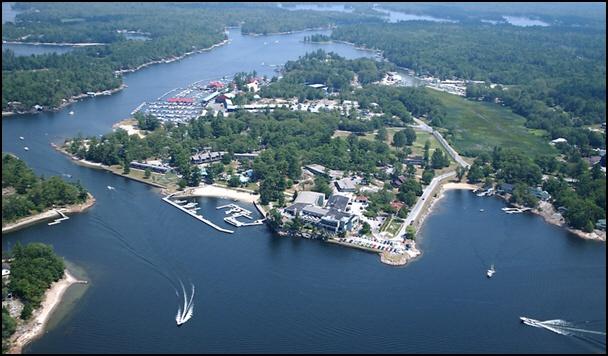 Honey Harbour, Ontario.