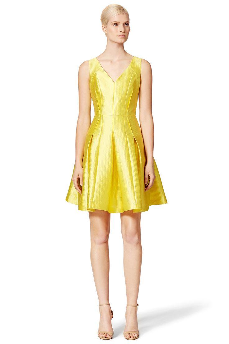 K michelle yellow dress derby