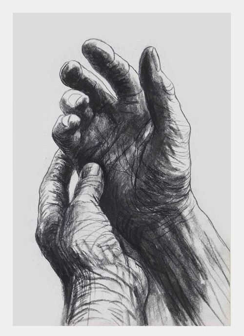 The artist's hands by Henry Moore... I love his artwork