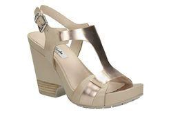 Rosalie Petal, Oyster Combi, Womens Casual Sandals