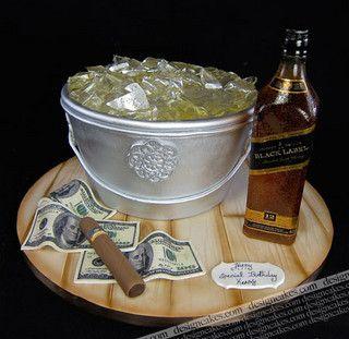 Johnnie Walker Birthday cake by Design Cakes, via Flickr