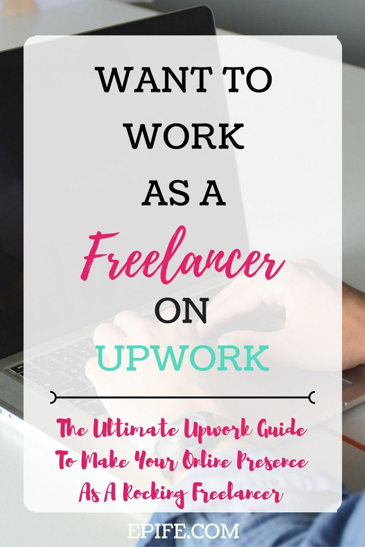 Want to work as a freelancer on Upwork? It's easy and quick