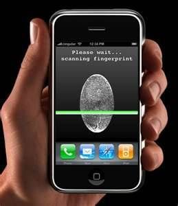Prototype the technology for fingertip scan is already integrated in latest iPhone but you still need a sim card to link it to your data; a mobile phone that can be used by virtually everyone with a telephone company valid contract is one app away