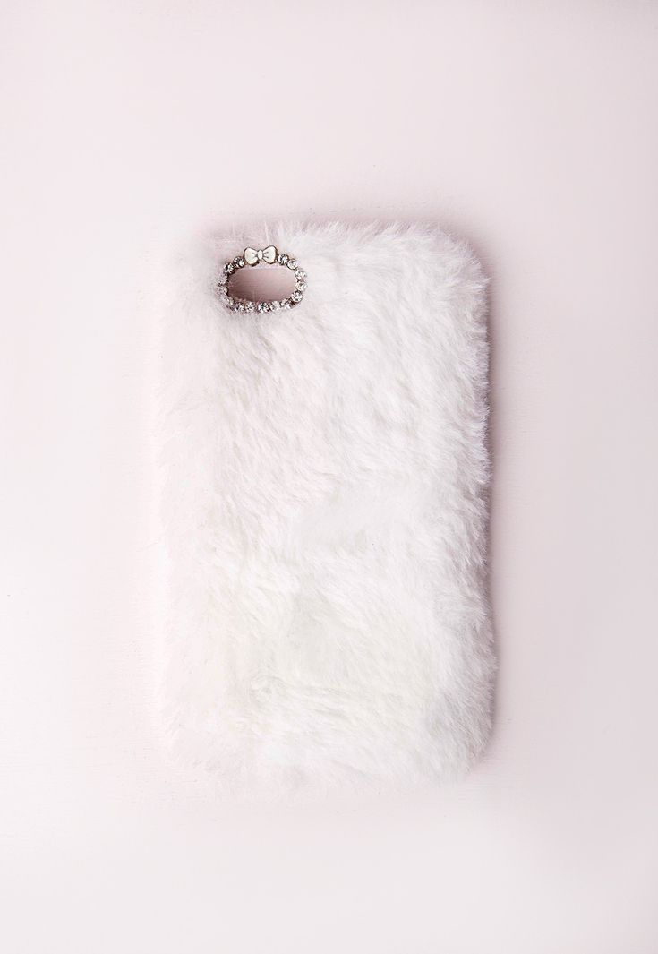 Are you faux real?! We've got this beaut on our wish list for sure. This faux fur iPhone 5 case is the perfect accessory for your phone and is super soft. Featuring a gem and box trim around the camera lense, we know this will be the hottes...