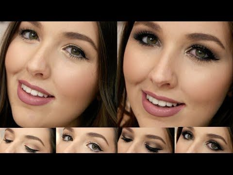 GIVEAWAY CLOSED - Chi Chi Cosmetics One Brand Tutorial - Day to Night Makeup Look - YouTube