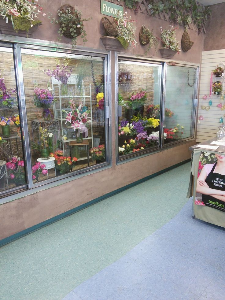 Our cooler is always stocked with fresh cut flowers and ready to go arrangements
