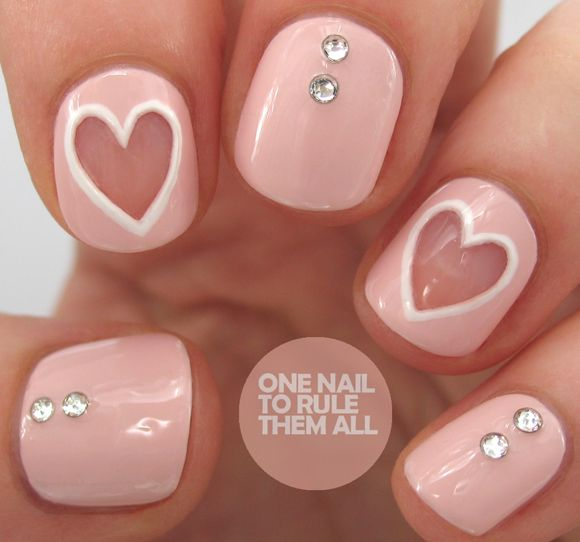 Gallery: San Valentino Nail Art Ideas  #tendenze #nails #unghie #tentazioneunghie #sanvalentino #gallery