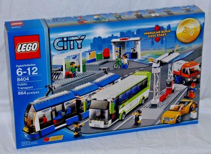Lego 8404 Public Transport - NEW FACTORY SEALED