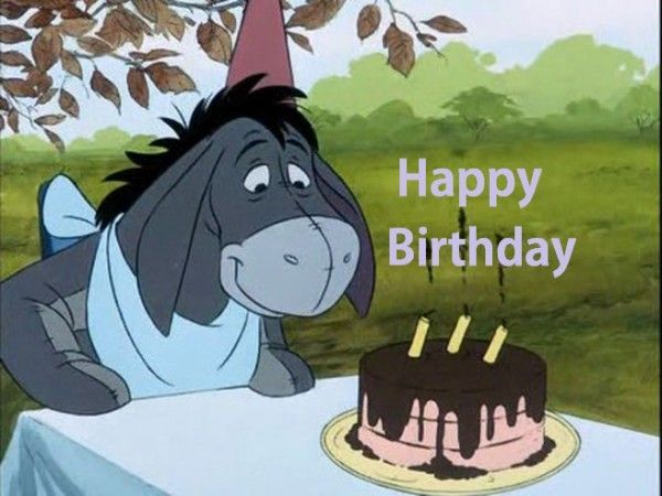 45 best happy birthday images – Eeyore Birthday Cards