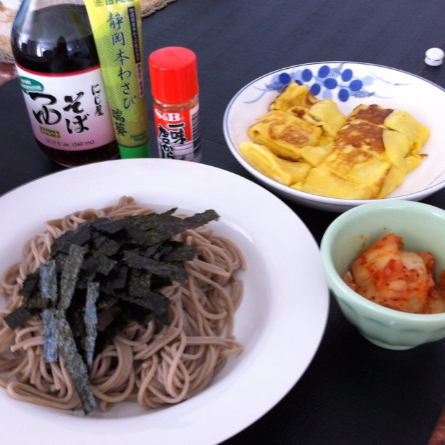 Soba ! Perfect lunch in summer!