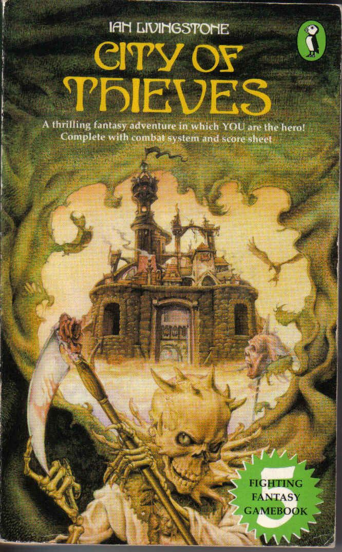 Fighting Fantasy #5 City of Thieves Ian Livingstone
