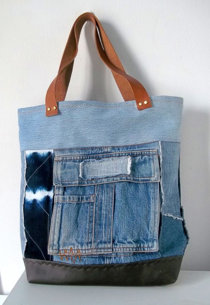 17 meilleures id es propos de sacs main en jean denim. Black Bedroom Furniture Sets. Home Design Ideas
