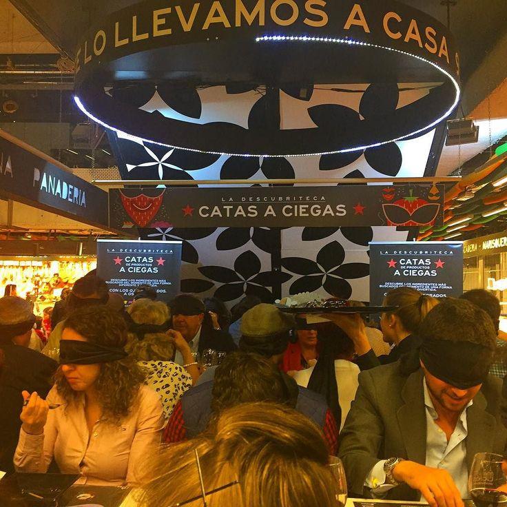 Presentando #tataki de #ternera de @carnedelafinca en las catas a ciegas del @mercadosananton #descubriteca by carnedelafinca