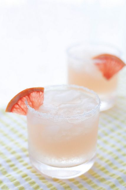 Paloma cocktail -- grapefruit, lime + tequila