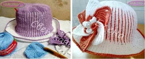 Шляпы летние для девочек от участниц онлайна