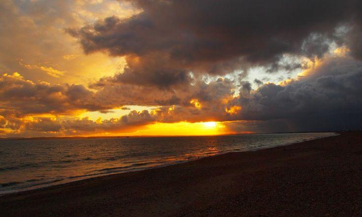 Sun set from Hayling beach