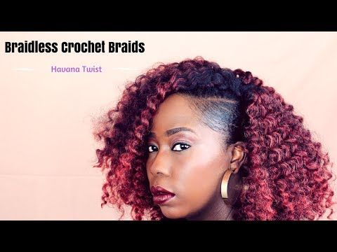 Braidless Crochet Reusing Old Crochet Hair Curly