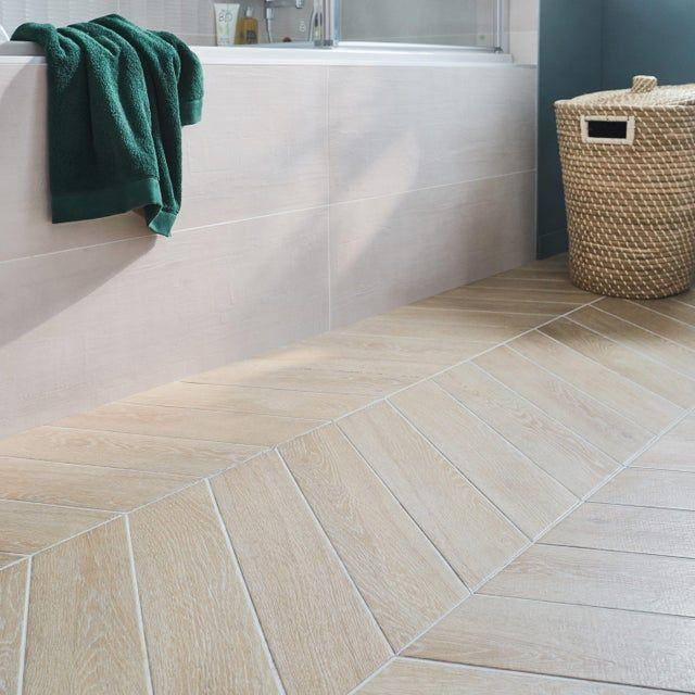 carrelage sol et mur forte effet bois
